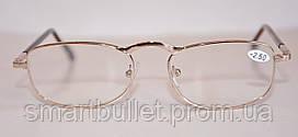 Очки Лектор металлическая оправа с диоптриями +