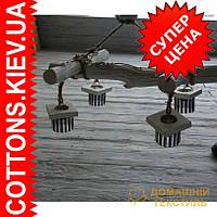 Деревяная декоративная люстра ручная робота