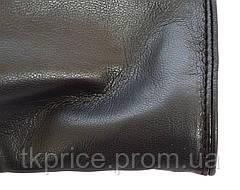 Длинные женские перчатки из экокожи с сенсорными пальчиками, длина перчаток около 47 см, фото 3