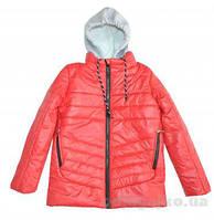 """Курточка с трикотажным капюшоном для мальчика """"Одягайко"""""""