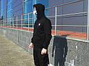 Худи мастерка мужская черная Кронос (Kronos) от бренда ТУР размер S, M, L, XL, XXL, фото 2