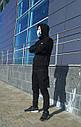 Худи мастерка мужская черная Кронос (Kronos) от бренда ТУР размер S, M, L, XL, XXL, фото 3