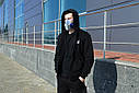Худи мастерка мужская черная Кронос (Kronos) от бренда ТУР размер S, M, L, XL, XXL, фото 5