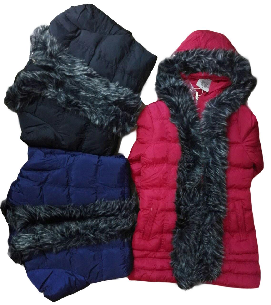 Куртка зимняя для девочек,оптом, Glo-Story, 134/140-170, арт. GMA-4439