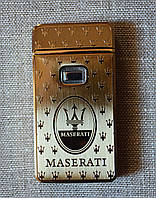 Электро-импульсная USB зажигалка Yijia Maserati
