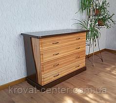 """Комод дерев'яний для спальні """"Конго - 2"""" від виробника, фото 3"""