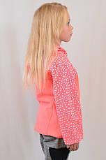 Тепла кофта штани на флісі, з капюшоном для дівчинки, фото 2