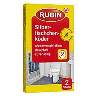 Rubin  Silberfischchenköder - Приманка чешуйницы обыкновенной в ванной и туалете