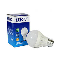 Лампочка энергосберегающая 5W UKC, светодиодные лампы, экономия света, не нагревается, лампочки