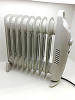 Масляный обогреватель  9 секций 1 КВт A-Plus 1986, защита от перегрева и замерзания, механическое управление, фото 1