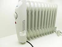 Масляный обогреватель  А-Плюс 1987, 1200 Ватт, 11 секций, регулировка нагрева, защита от перегрева и замерзани