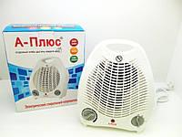 Тепловентилятор А-Плюс 2124, максимальная мощность 2 кВт, быстрый нагрев, термостат, фото 1