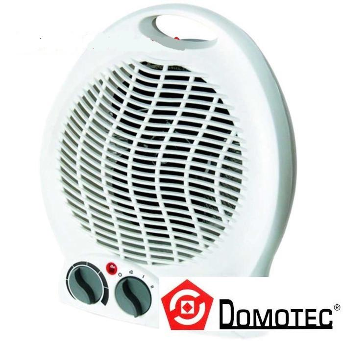 Тепловентилятор Domotec DT-1603, мощность max=2кВт, регулировка температуры, терморегулятор, быстрый нагрев
