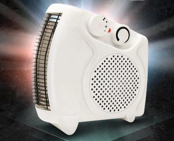 Тепловентилятор  Nokasonik NK 202, максимальная мощность 2 кВт, быстрый нагрев, термостат, обогрев до 22м²