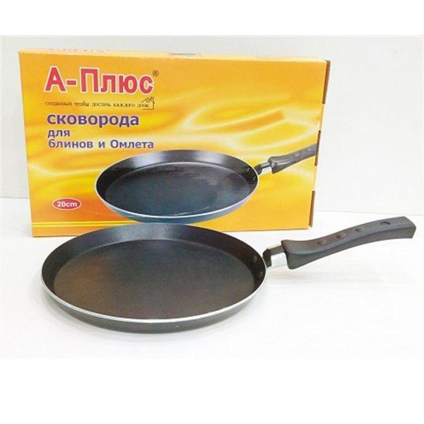 Сковорода блинная 22см, сковорода с антипригарным покрытием ,А-Плюс FP-114