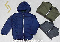 Куртки зимние на меху для мальчиков SINCERE 4-12 лет