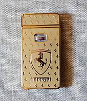 Электро-импульсная USB зажигалка Yijia Ferrari