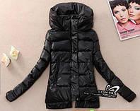 Куртка женская с капюшоном черная