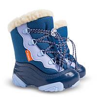 Сапоги зимние детские Demar SNOW MAR-2 синие (20-29 р.)