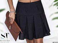 Шикарная юбка в школьном стиле