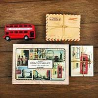 Подарочный набор открыток с конвертами