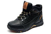 Ботинки зимние мужские на меху Columbia TRACK черные кожаные на меху, р. 40 41 42 43 44