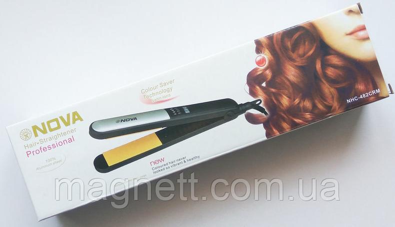 Утюжок для волос Nova NHC-482CRM