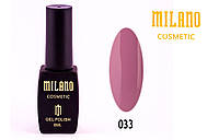Гель лак Milano №33