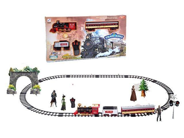 Залізна дорога Train King з димом