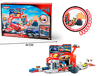 """Детский гараж 6337 """"Тачки"""" в коробке"""