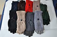 Женские комплекты перчатка+варежка