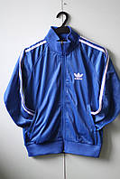 Cпортивная кофта синяя Adidas