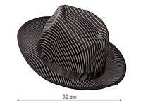 Шляпа гангстера взрослая, 2 вида