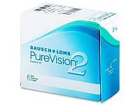 Контактные линзы на 1 месяц Pure Vision 2