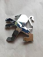 Знак эмблема Peugeot задняя