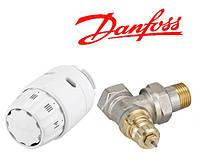 Комплект радиаторный термостатический 1/2 Danfoss Дания угловой