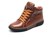 Зимние ботинки Wrangler, мужские, рыжие, натуральная кожа, р. 41 42 43 45