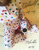 Женская Пижама байка с маской, фото 1