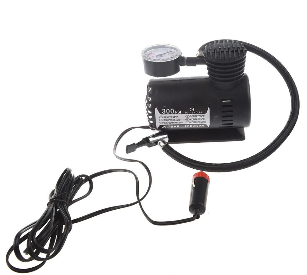 Автомобильный компрессор 12 В 300 psi