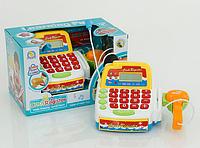 Кассовый аппарат детский FS 34440 на батарейке, свет, звук, в коробке