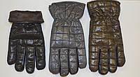 Мужские перчатки стеганные на флисовой подкладке
