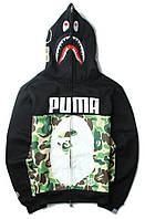 Худи Bape x Puma