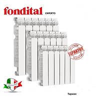 Радиатор отопления алюминиевый Fondital EXPERTO A3 500x100, фото 1
