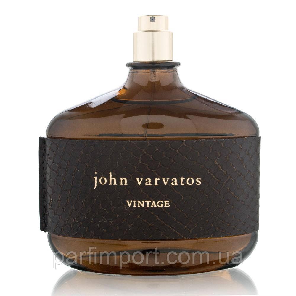 John Varvatos Vintage Men edt 125 ml TESTER  туалетная вода мужская (оригинал подлинник  США)