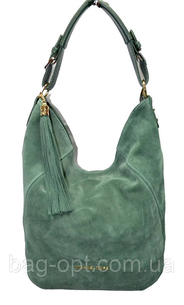 4c72c658461c Женская сумка ''premium'' 37x37x13 см с замшевыми вставками MK ...