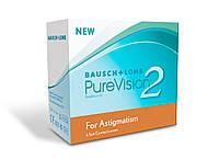 Ежемесячные контактные линзы Pure Vision 2 Toric, Bausch & Lomb