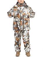 """Теплый костюм для рыбалки и охоты """"Зимний лес"""" размер 58"""