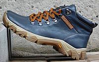 Мужские Зимние Кожаные ботинки Columbia model K-2 Цвет Синий Польша