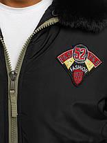 Мужская зимняя куртка черного цвета, фото 3