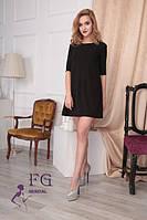 Платье женское Аманда черное, повседневное платье